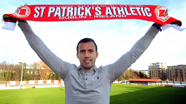 Keith Fahey has signed a one-year contract with St Pat's