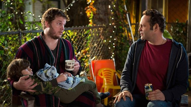 Vince Vaughn's character is funny and loveable