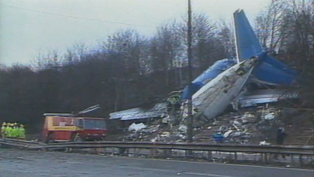 British Midlands Airplane Crash 1989