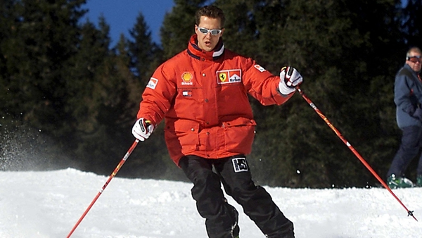 Michael Schumacher was a competent and experienced skier