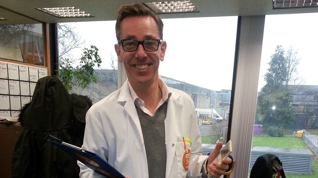 Ryan Tubridy gearing up to attend the BT Young Scientist and Technology Exhibition in the RDS