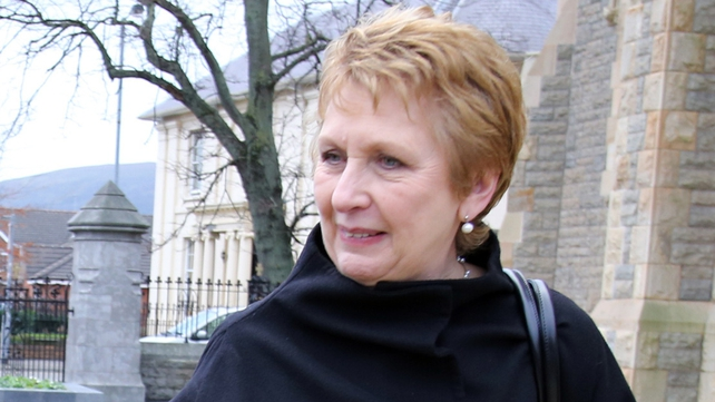 Mary McAleese told a Scottish newspaper that a large number of Catholic priests were gay