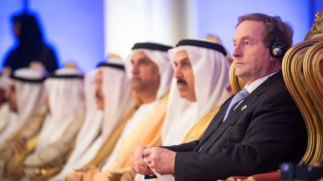 Enda Kenny attended the Abu Dhabi Ireland Investment Forum
