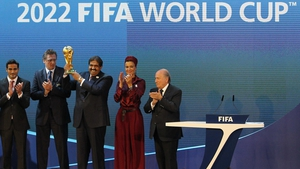 The bidding process for the 2018 and 2022 World Cups is being investigated