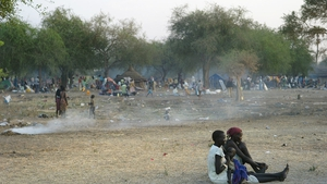 More than 75,000 people have fled violence in Jonglei state and are currently living in desperate conditions in Awerial (Pic: MSF/Jacob Simkin) For more details on what is happening see msf.ie/awerial