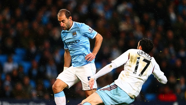 Pablo Zabaleta: 'It was one of those games that we didn't do our stuff.'