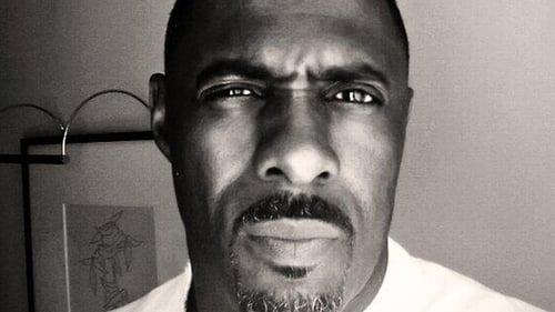 Idris Elba's 'Lutherrage' pic!
