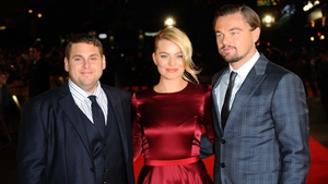 Jonah Hill, Margot Robbie, Leonardo DiCaprio