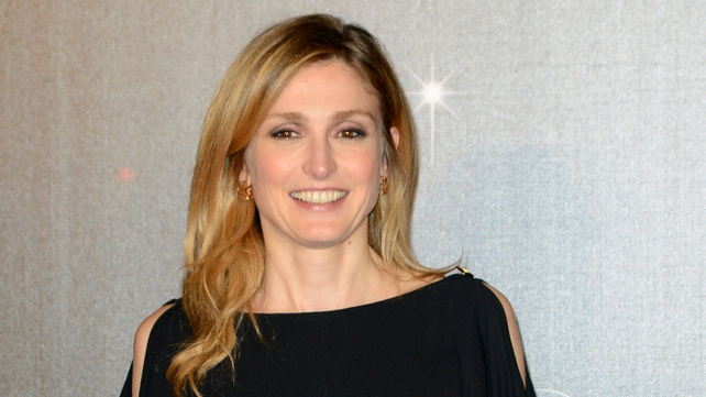 Julie Gayet appeared in one of Mr Hollande's 2012 election commercials
