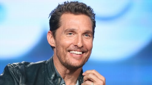 "Matthew McConaughey:  ""I want them fluent - which means I gotta do a crash course too"""