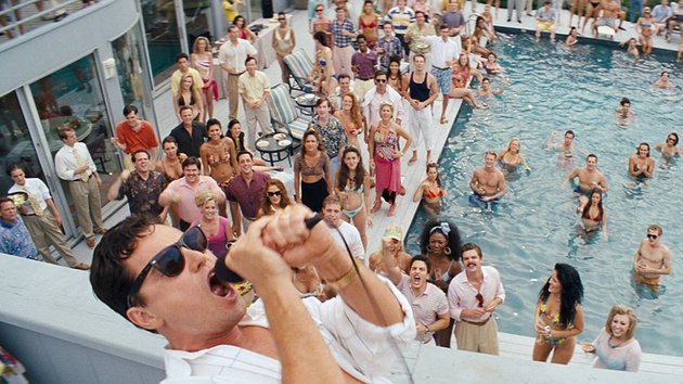 The Wolf of Wall Street - Over-the-top spectacle