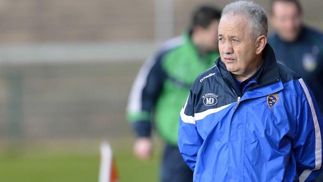 Munster manager Ger O'Sullivan
