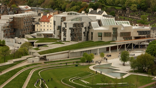 Mivan was involved in outfitting the Scottish Parliament at Holyrood