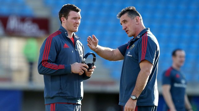 Peter O'Mahony and Rob Penney