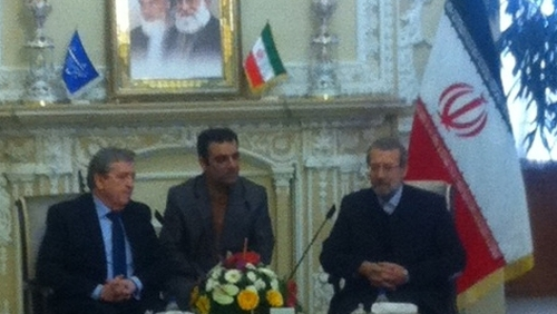 Pat Breen attended a meeting with Foreign Affairs Minister Mohammad Javad Zarif