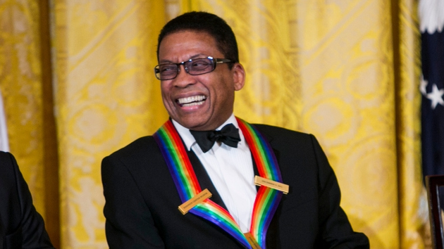 Hancock was honoured by the Kennedy Center last year