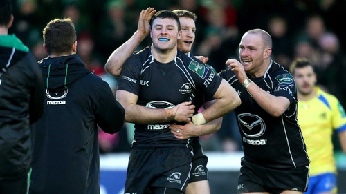 Robbie Henshaw returns to the Connacht line-up for the visit of Treviso