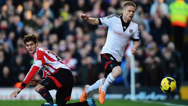 It is not clear whether Damien Duff will require surgery