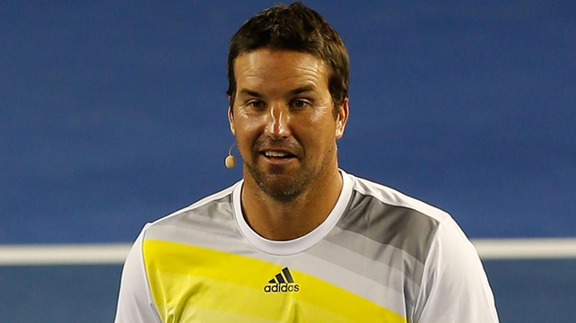 Two-time US Open champion Pat Rafter retired in 2001