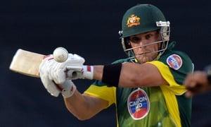 Aaron Finch hero for Aussies scoring 121 runs
