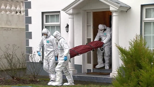 The victim was attacked and stabbed at his home in Beechpark Avenue