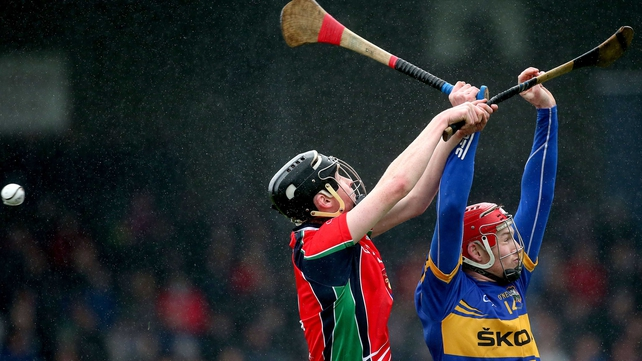 Tipperary's Denis Maher and Cian Nolan of LIT