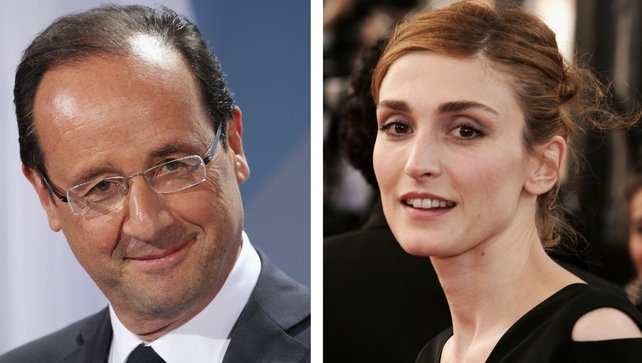It was reported on Friday that Francois Hollande has been having an affair with Julie Gayet