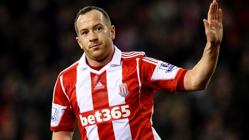 Charlie Adam will miss Stoke's next three matches