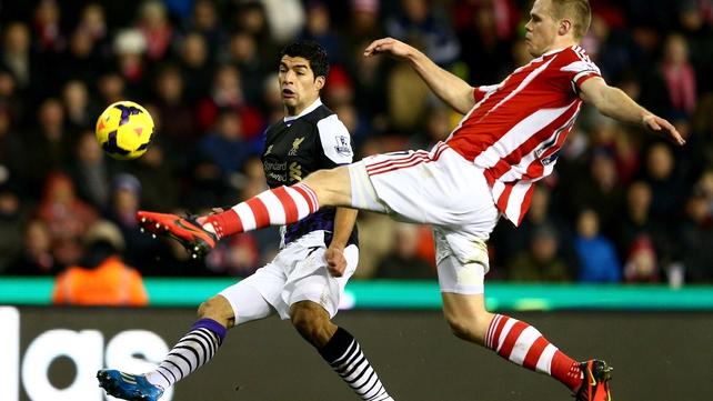 Luis Suarez scored twice