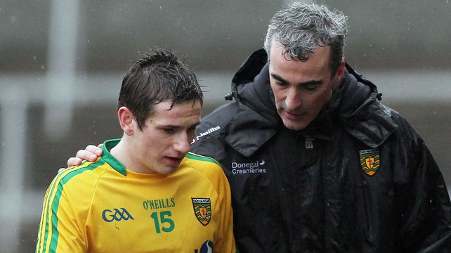 Jim McGuinness saw his side beat Armagh at the Athletic Grounds