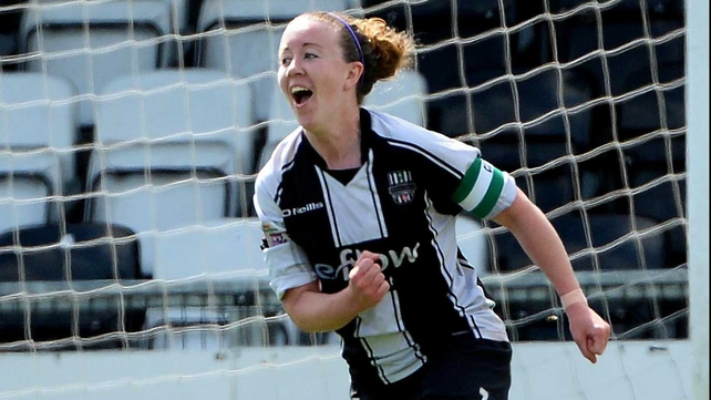 Rebecca Creagh scored for Raheny