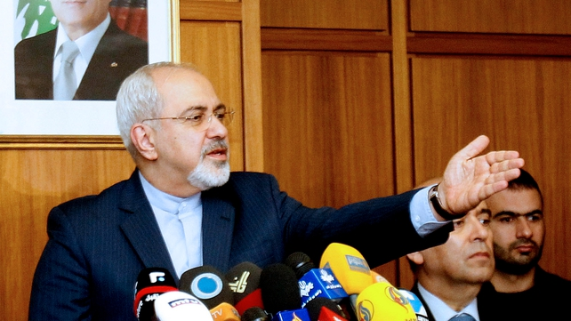 Mohammad Javad Zarif unequivocally asserted to RTÉ that Iran does not seek nuclear weapons