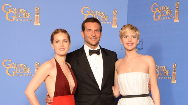 American Hustle (l-r stars Amy Adams, Bradley Cooper and Jennifer Lawrence) - Won the awards for Best Film (Comedy or Musical), Best Actress (Comedy or Musical) and Best Supporting Actress