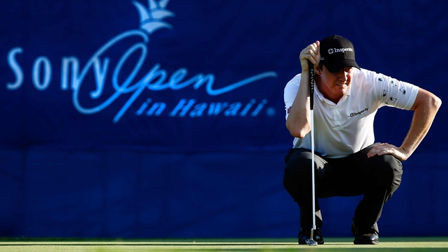 Jimmy Walker won by a single shot in Hawaii