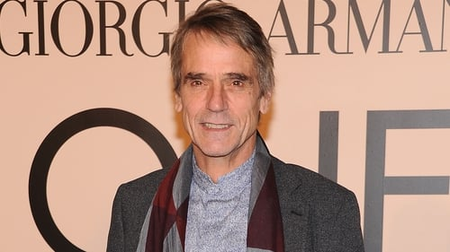 Irons - Said the honour was up there with his acting awards, including the Oscar