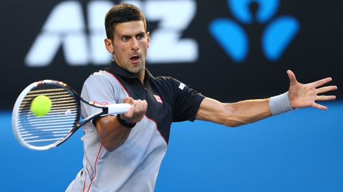 Novak Djokovic is going for his fourth straight Australian Open title