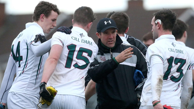 Kildare are through to the O'Byrne Cup semi-finals