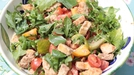 Panzanella salad  - This is a classic Italian salad that enlivens pieces of stale-ish bread with the juice of sweet tomatoes and a rich dressing of balsamic vinegar and olive oil. The inclusion of some readily available fresh herbs helps to give this classic a real lift and original twist.