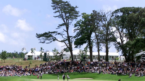 Fota Island in 2001 when Colin Montgomerie won the event