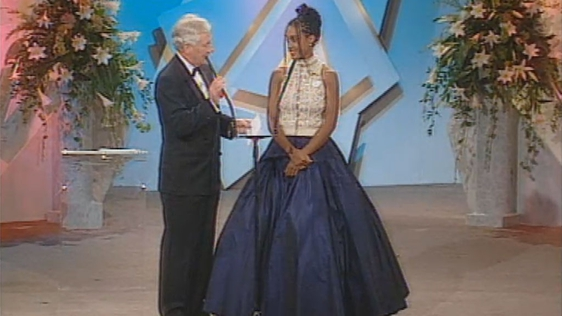 French Rose at Rose of Tralee, 'Head to Toe', 1996