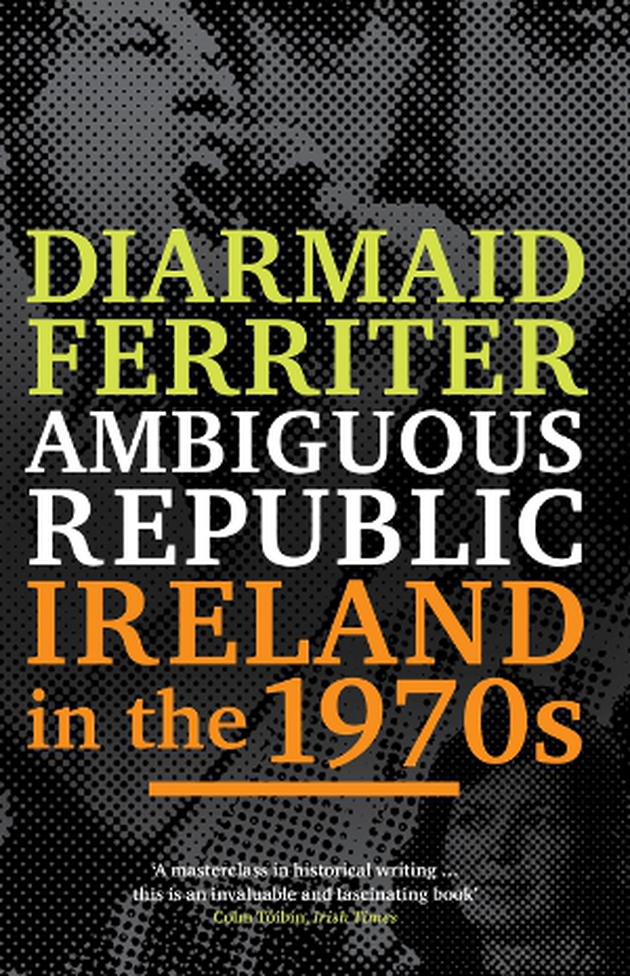 The 1970s: the heyday of Thin Lizzy Rory Gallagher and the Boomtown Rats, but Dana and Brendan Shine also reigned supreme. Ferriter does not exclude the culture, music and sport in his vast account.