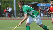 Shane O'Donoghue scored Ireland's goal against the Aussies