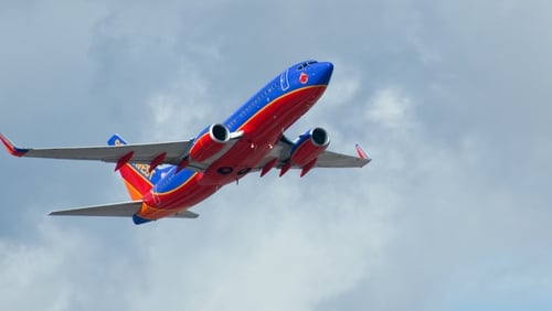 Southwest airlines is investigating the incident