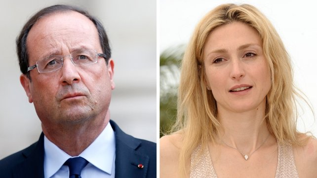 Francois Hollande is alleged to be having an affair with actress Julie Gayet