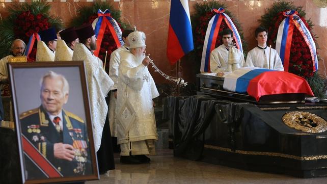 Mikhail Kalashnikov died in December
