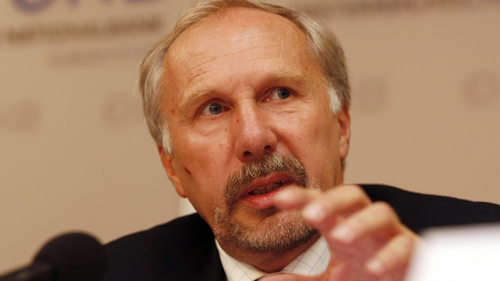 Ewald Nowotny says wage growth will come in the euro zone - eventually