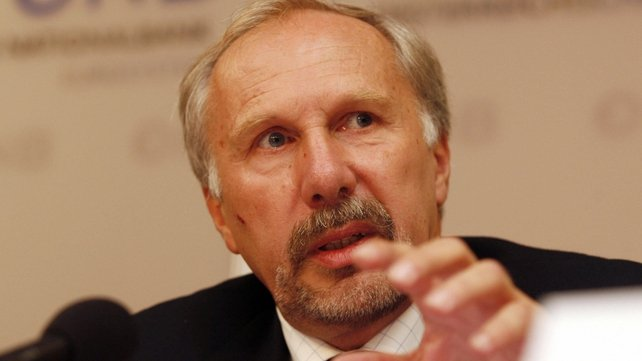ECB's Ewald Nowotny says no risk of inflation or deflation in euro zone