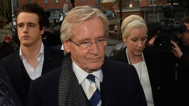 William Roache arrives at Preston Crown Court this morning