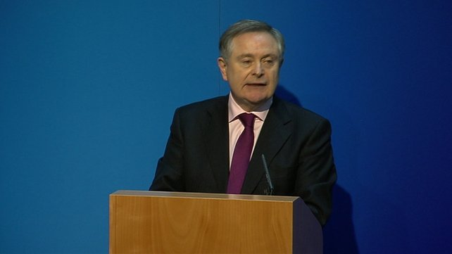 Brendan Howlin set out the advances the public service has made in reducing costs