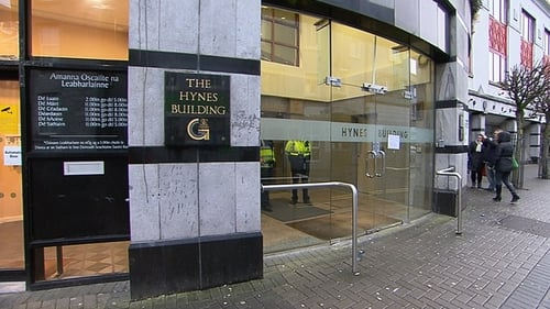 The boy died in a lift shaft in the Hynes Building on Augustine Street in Galway